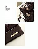 Жіноча сумка з лакированой шкіри Glorious, фото 6