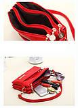 Жіноча сумка з лакированой шкіри Glorious, фото 7