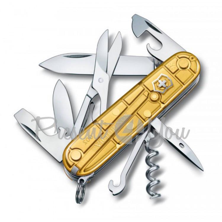 Нож-CLIMBER из высокопрочной нержавеющей стали Victorinox