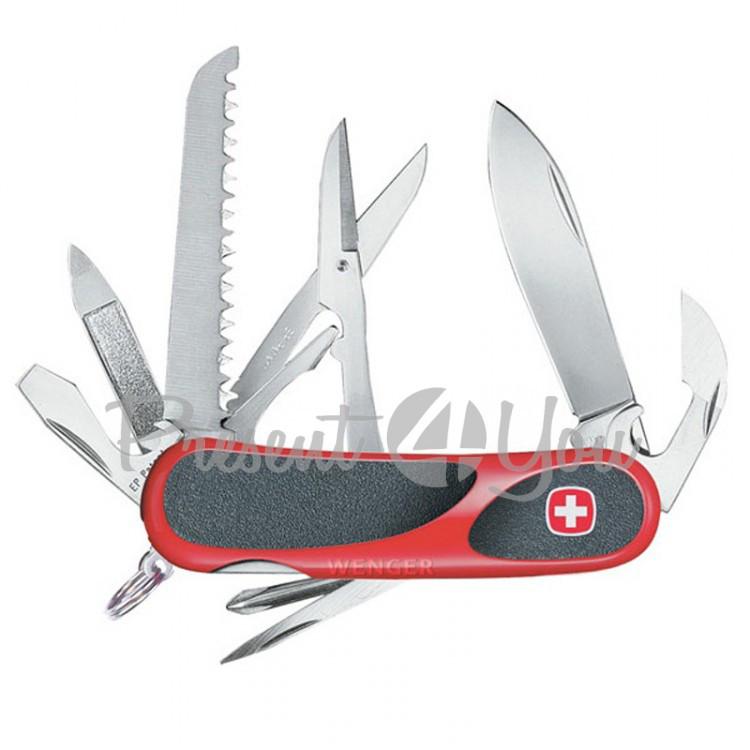 Нож metal box Wenger Evogrip 18