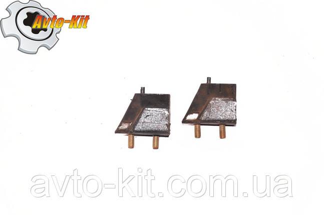 Подушка двигателя задняя (подушка КПП) Foton 1043 Фотон 1043 (3,7 л), фото 2