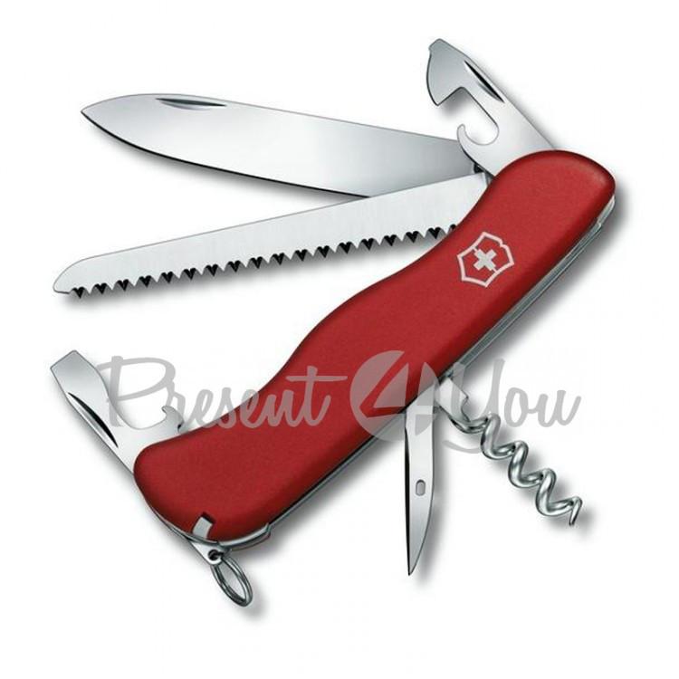 Нож красный нейлон - RUCKSACK из высокопрочной нержавеющей стали Victorinox