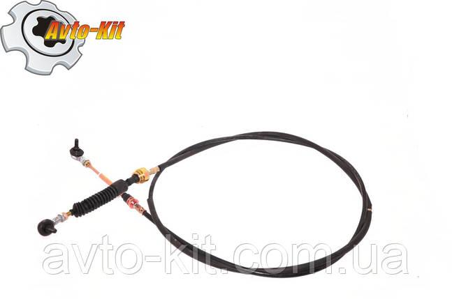 Трос включения передач (шарнир-шарнир) 2,80 м Foton 1043 Фотон 1043 (3,7 л), фото 2