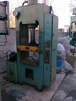 ДБ2430 - Пресс гидравлический для изготовления изделий из пластмасс, усилием 100т
