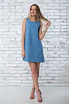 """Платье летнее """"Грейс"""" - цвет синий, фото 2"""