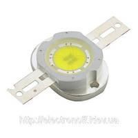 Светодиод 10 Вт (10 W) белый, 500-600 Лм (Lm).