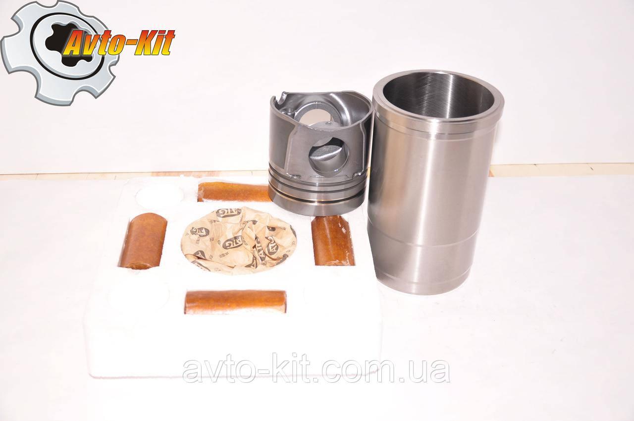 Комплект поршневой FAW 1061 (4гил, 4пор, 4пал, 4кол)  ФАВ 1061 (4,75 л) палец d=42