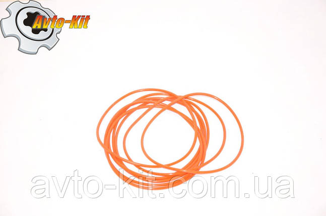 Кольцо уплотнительное гильзы поршневой комплект (8 резинок) FAW 1061 ФАВ 1061 (4,75 л), фото 2