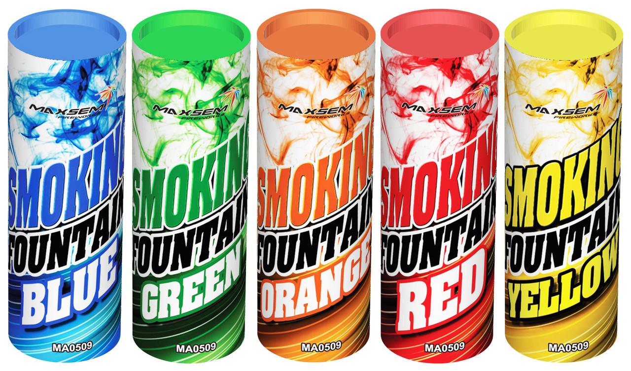 Набор цветного дыма для фотосессии Maxsem 5 цветов средняя насыщенность