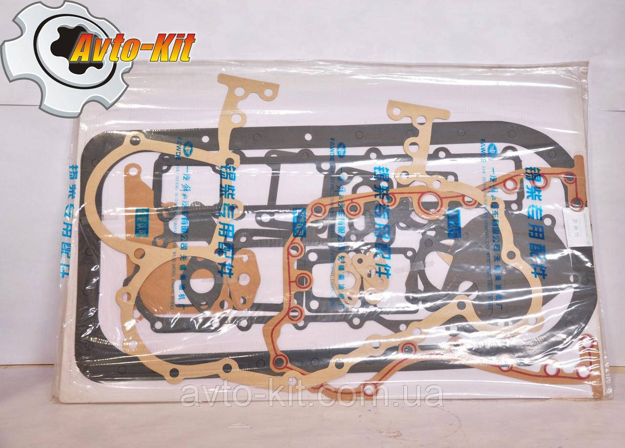 Прокладки двигателя набор (без ГБЦ сальников коленвала и клапанов) FAW 1061 ФАВ 1061 (4,75 л)