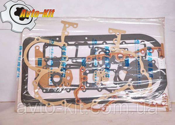 Прокладки двигателя набор (без ГБЦ сальников коленвала и клапанов) FAW 1061 ФАВ 1061 (4,75 л), фото 2