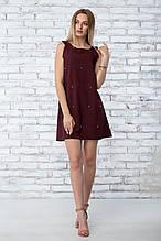 """Платье летнее """"Грейс"""" - цвет бордо"""