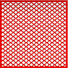 Трафарет Узор4, 18х18 см, многоразовый