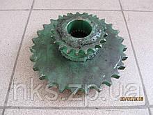 Блок зірочок Z21(15,87) Z27(25,40) Z-224 Sipma