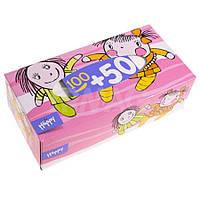 Салфетки отрывные Bella Happy, 100 + 50 шт.(420901)