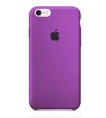 Чехол накладка Silicone Case для iPhone 7/8 - Purple