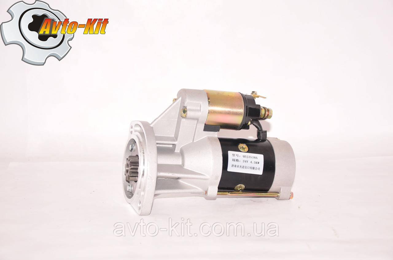 Стартер редукторный, 24В FAW 1051 ФАВ 1051 (3,17) (QDJ2538A)