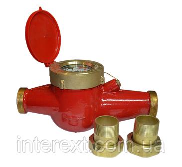 Счётчик горячей воды многоструйный Gross MTW-UA Ду 40, фото 2