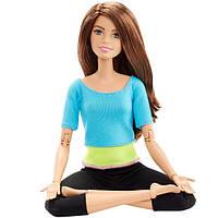 Кукла Барби из серии Безграничные движения Синий топ Barbie Made to Move