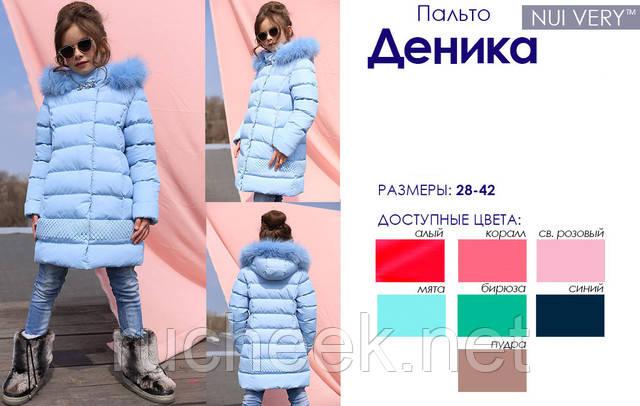 Новая коллекция детской зимней одежды