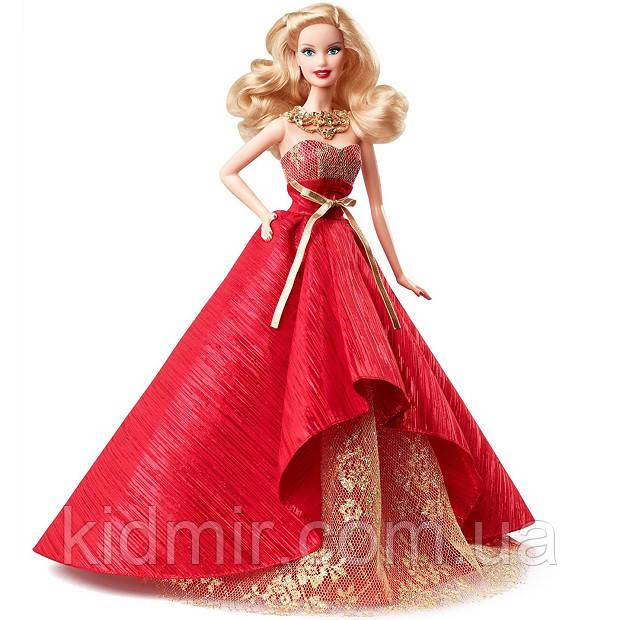 Кукла Барби Коллекционная Праздничная 2014 Barbie Collector Holiday BDH13