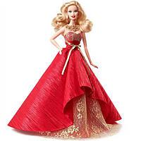 Купить выгодно. Коллекционная кукла Барби праздничная в красно золотом  платье Barbie 2014 Holiday d032dcc82148d
