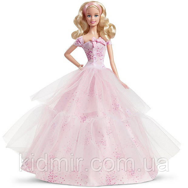 Кукла Барби Коллекционная День рождения 2016 Barbie Birthday Wishes DGW29