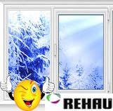 Пластиковые окна и двери Rehau, купить окна Рехау, цена в Киеве