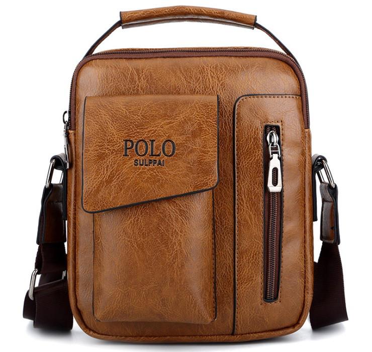 Мужская сумка через плечо Polo Stek