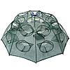 Раколовка зонтик два этажа, 20 входов , прочная и надежная, диаметр 100 см