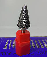 Борфреза коническая (LX) 20х25х6 c закругленной вершиной твердосплавная