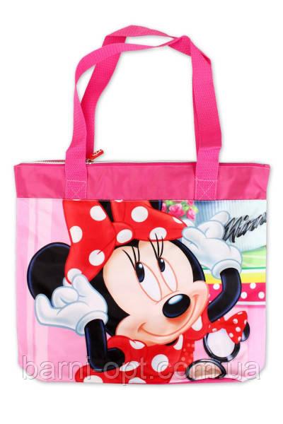 Пляжная сумка для девочек MINNIE 40*27*11 см, DISNEY
