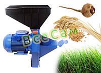 Корморезка (Кормоизмельчитель / Зернодробилка) Эликор для зерна, травы и корнеплодов