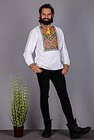 Мужская вышитая сорочка в этно стиле