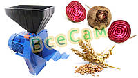 Корморезка (Кормоизмельчитель) Эликор-1 для корнеплодов (буряков) и зерна