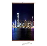 МЕГА СКИДКИ!Настенный инфракрасный обогреватель-картина ТРИО Гонконг