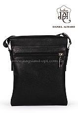 Мужская кожаная сумка Daniel Albaro 24*19 см, фото 2