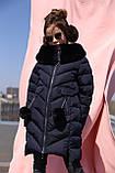 Ясмин - зимнее пальто для девочки Новая коллекция зима Nui very, р 116 - 158, фото 4