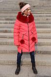 Ясмин - зимнее пальто для девочки Новая коллекция зима Nui very, р 116 - 158, фото 8