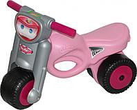 """Каталка-мотоцикл """"Мини-мото"""", розовая"""