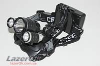Фонарь налобный POLICE LL6633 Т6 1800Lm - Сверхмощный, фото 1
