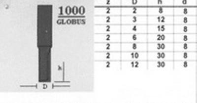Фреза 1000 d12 D12