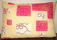 Подушка с наполнителем овечья шерсть, ткань поликоттон , фото 1