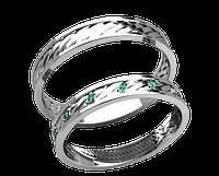 Кольца парные,обручальные Плетение 20026