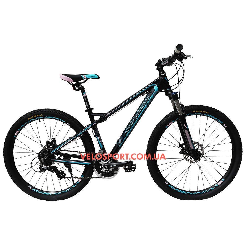 Горный велосипед Winner Stella 27.5 дюймов черный
