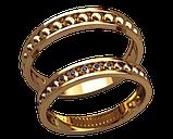 Кольца парные,обручальные Свадебные 20025, фото 2