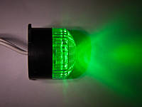 Строб лампа зеленая