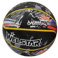 Мяч баскетбольный №7 Welstar резиновый
