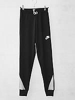 Спортивные штаны для мальчика на 1-5 лет черного цвета Nike оптом