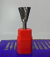 Борфреза зворотний конус (NEX) 20х25х6 твердосплавна